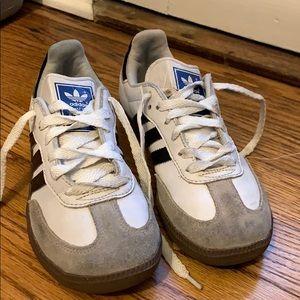 Adidas Samba White Soccer Shoes